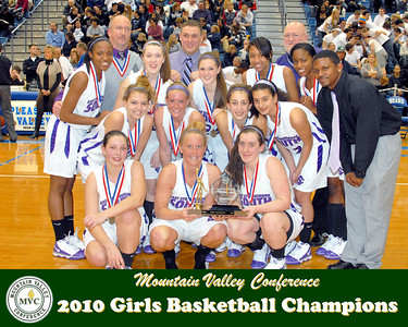 2010 Girls Basketball Champions