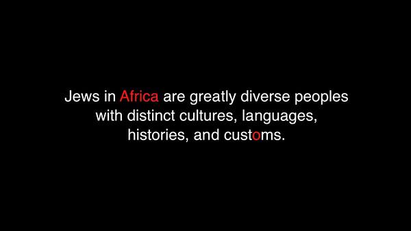 VIDEO: Jewish Africa presentation, version 3