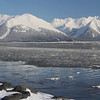 Incoming tide in Turnagain Arm.