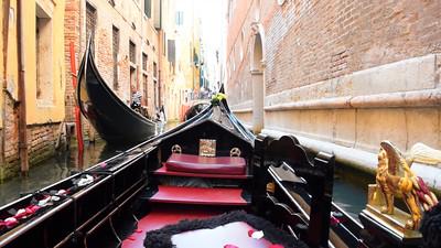 Paseo en Gondola, Venecia 2015