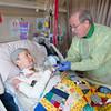 Caregiver Receives Care