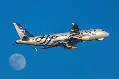 Saudi Arabian Airlines Airbus A320-214 HZ-ASF 2-17-19