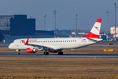 Austrian Airlines Embraer ERJ-190-200LR OE-LWA 2-17-19