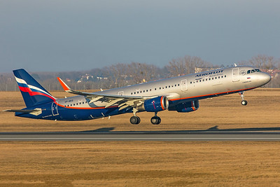 Aeroflot Airbus A321-211 VP-BKQ 2-17-19