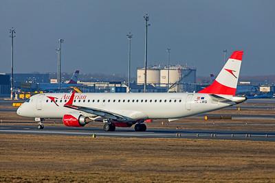 Austrian Airlines Embraer ERJ-190-200LR OE-LWG 2-17-19