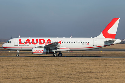 LaudaMotion Airbus A320-232 OE-LOJ 2-17-19