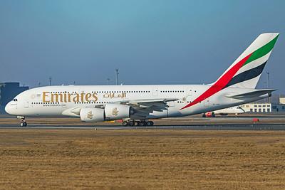 Emirates Airbus A380-861 A6-EDG 2-17-19
