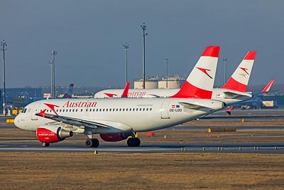 Austrian Airlines Airbus A319-112 OE-LDD 2-17-19