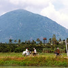 Nui Ba Den (Black Virgin Mountain) in 2001 on a trip back to Viet Nam.  A short drive out of Tay Ninh.