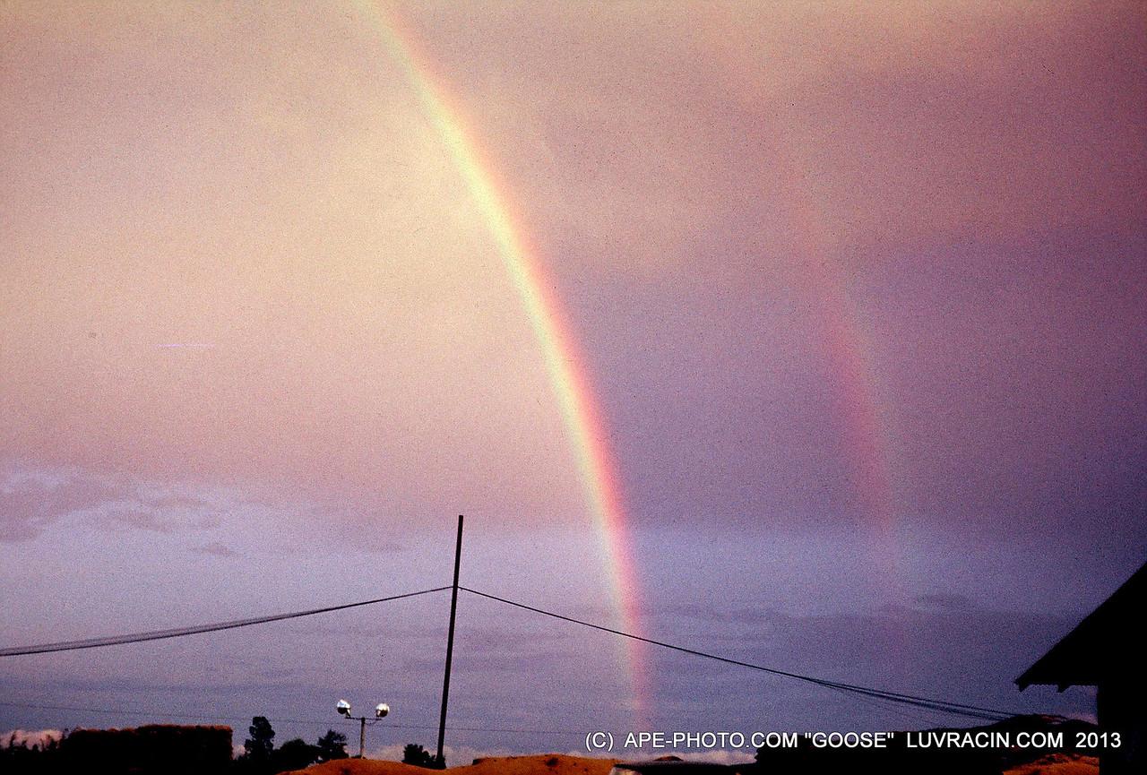 TWO RAIN BOWS