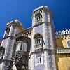The Palacio Nacional da Pena in Sintra in the Bavarian Baroque style.