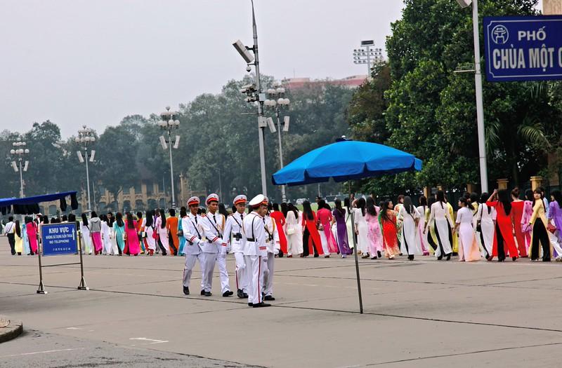 HANOI, Ho Chi Minh Mausoleum