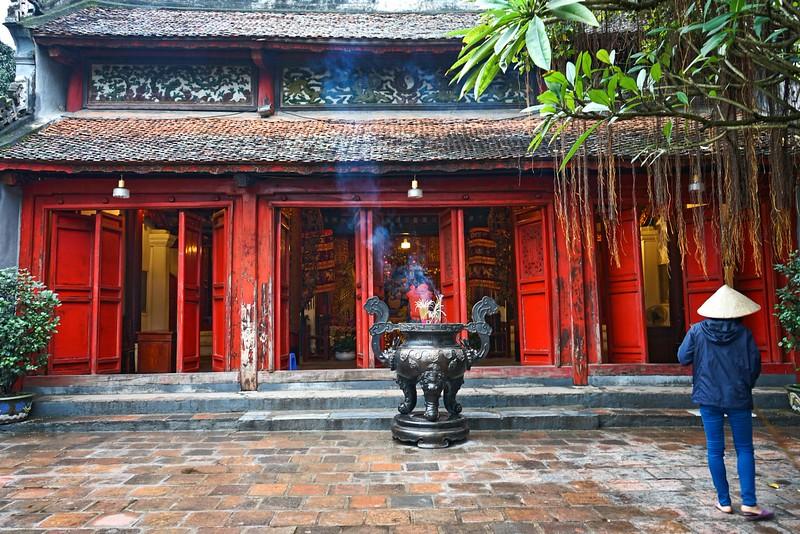 HANOI, Ngoc Son Temple, Hoan Kiem Lake