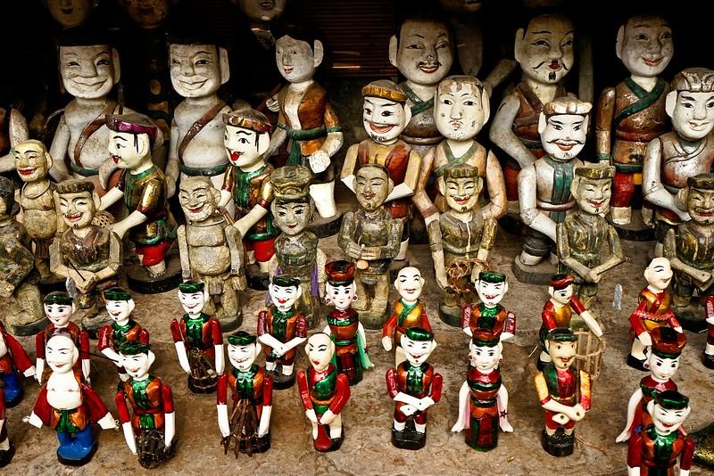 HANOI, Water Puppets dolls