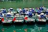 TRANG AN, Boats waiting for customers, close to the Dinh Tien Hoang graves