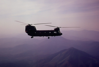 Chinook Over the Ashau Valley