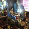 Selling durian fruit / Vendedora de durian y otras frutas