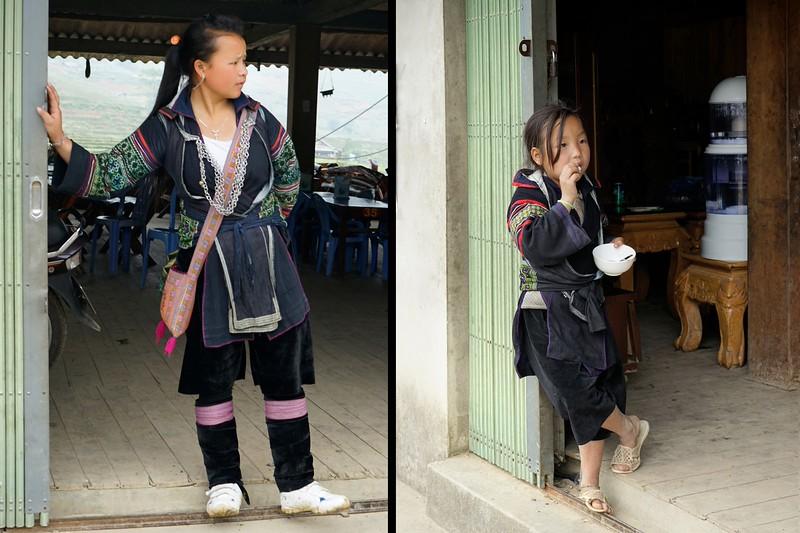 SAPA -  Ta Van Village - Black H'Mong Women