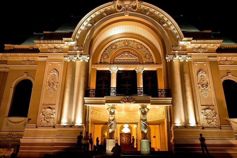 HO CHI MINH CITY (SAIGON),   The Opera House