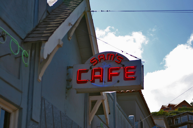 Sam's Cafe - Tiburon, CA ...Just after the remodel...all looks the same...really  [April 2007]
