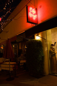 Cafe Rouge on 4th street in Berkeley, California, US