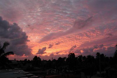 Cuba Lugares Cubanos - Places in Cuba - Flaming Sunset