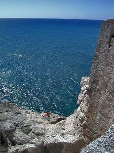 Cliff in Havana at the Castle