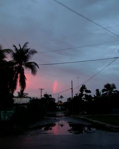 Rainbow after the Rain in a Havana Suburb
