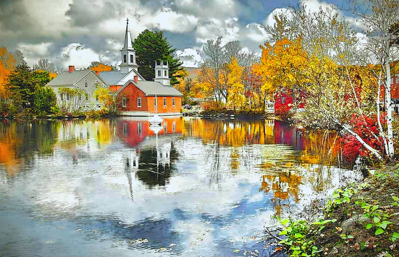 Harrisville Village, NH #4