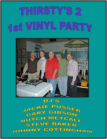 2010 Thirsty's 2 Vinyl Party - Jan 23