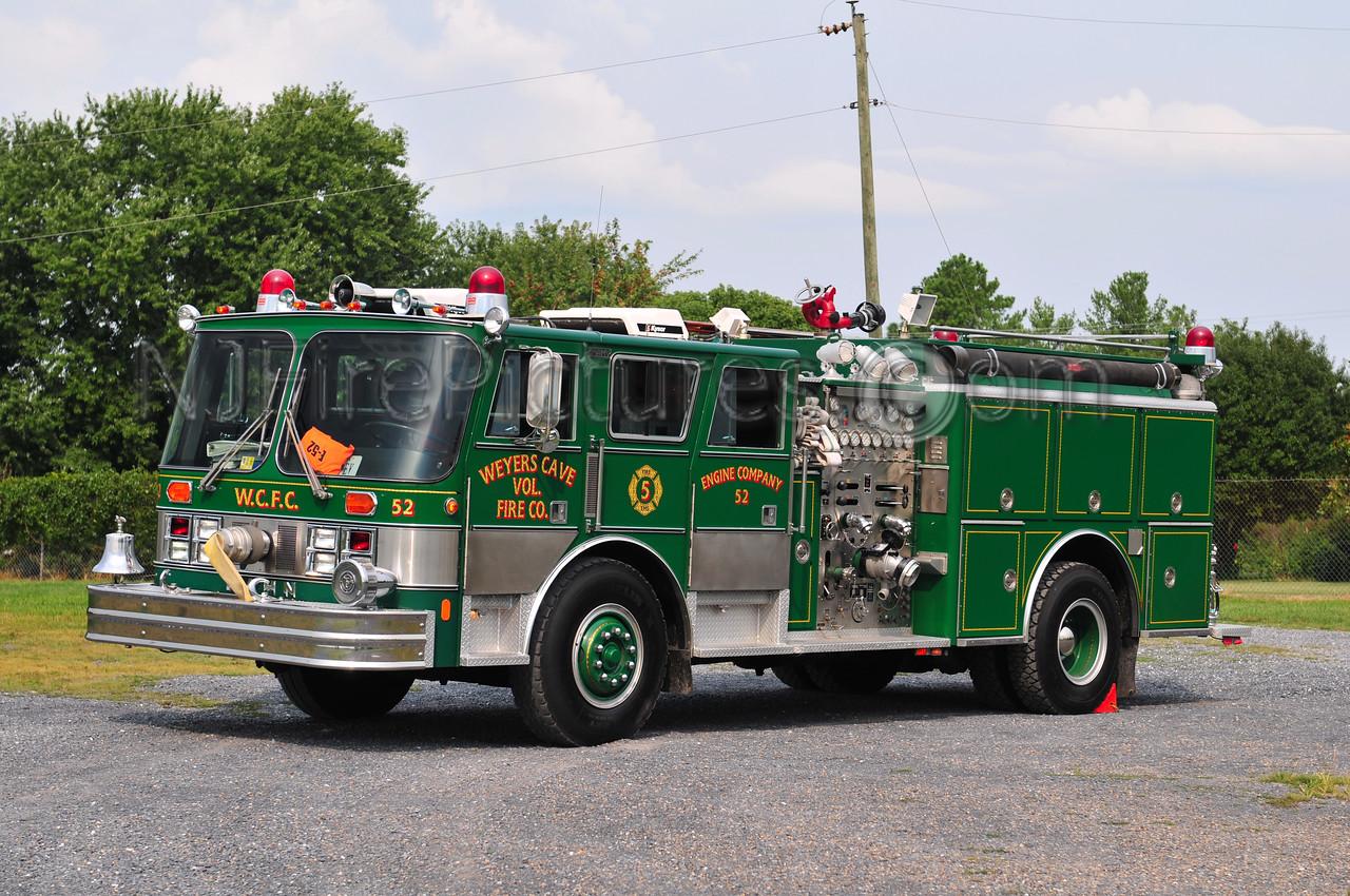 WEYERS CAVE, VA ENGINE 52