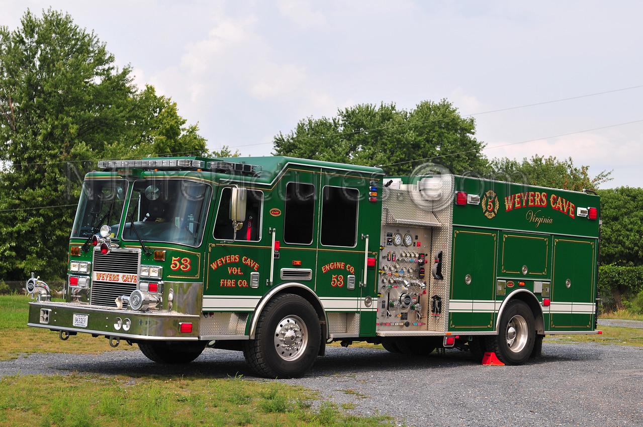 WEYERS CAVE, VA ENGINE 53