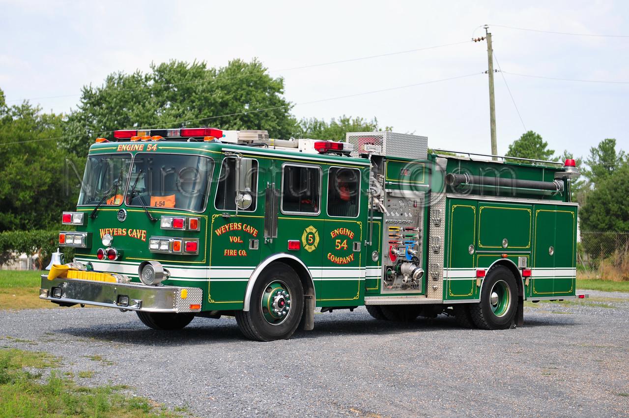 WEYERS CAVE, VA ENGINE 54