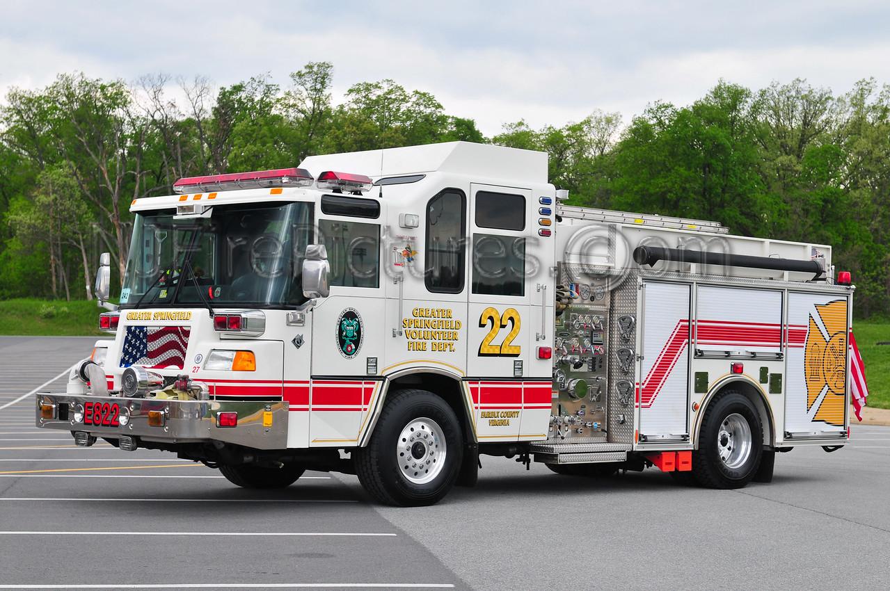 GREATER SPRINGFIELD, VA ENGINE 422
