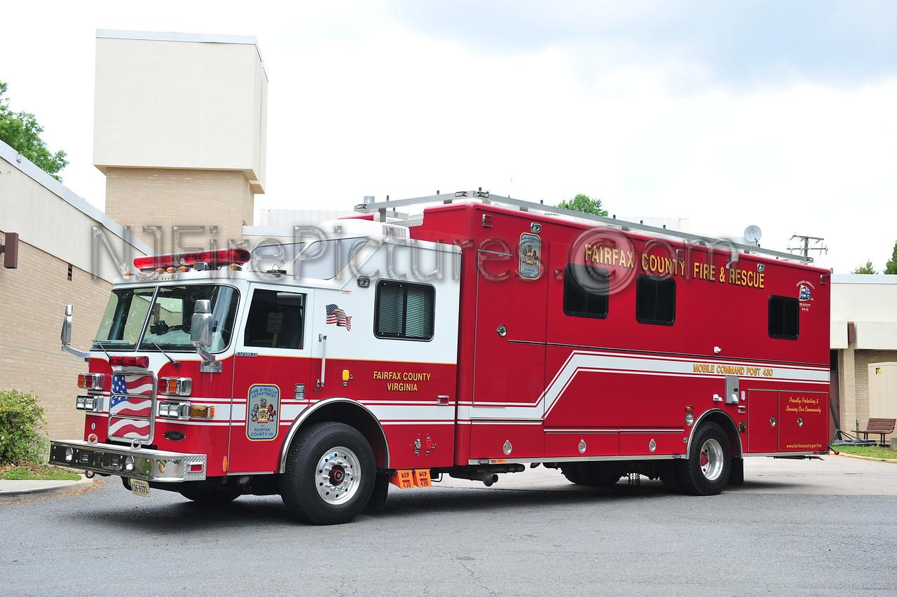 FAIRFAX COUNTY, VA MOBILE COMMAND 430