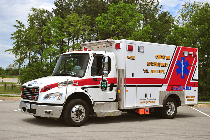 GREATER SPRINGFIELD, VA AMBULANCE 422