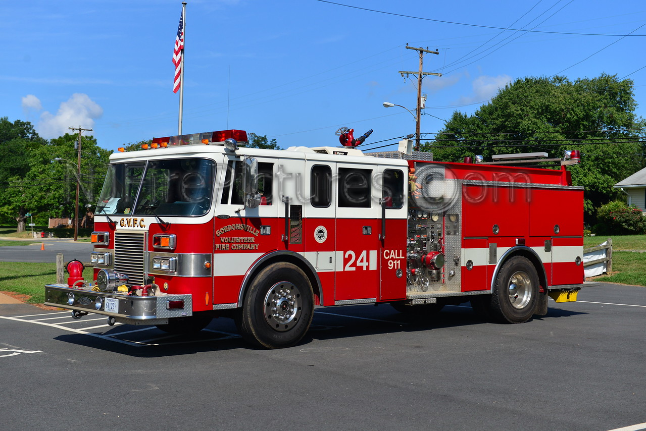 GORDONSVILLE, VA ENGINE 24