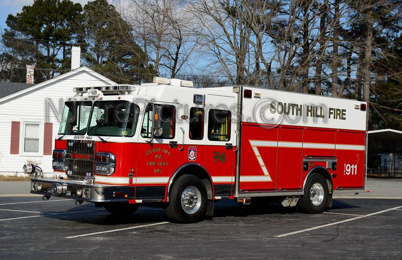 SOUTH HILL, VA ENGINE 74