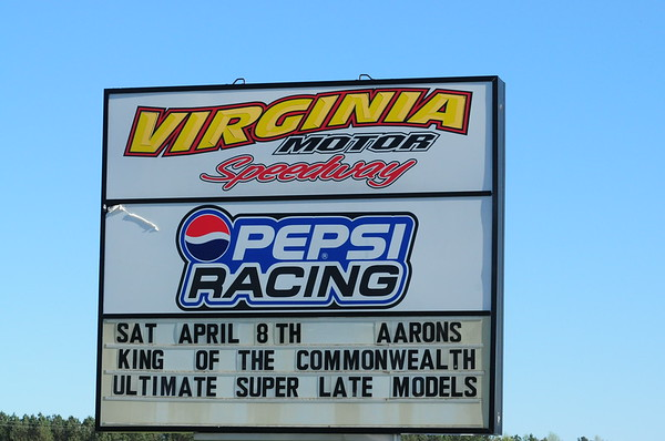 VIRGINIA MOTOR SPEEDWAY AARON'S KING OF THE COMMONWEALTH 4-8-17