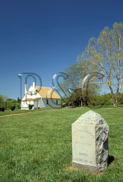 FREDERICKSBURG & SPOTSYLVANIA NATIONAL MIITARY PARK, VIRGINIA<br /> GUINEA STATION<br /> STONEWALL JACKSON MEMORIAL