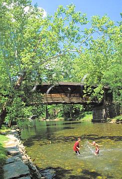 COVINGTON HUMP BACK BRIDGE W