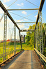Steel Truss Bridge Near New Hope in the Shenandoah Valley of Virginia, USA