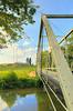 Steel Truss Bridge Near New Hope in the Shenandoah Valley of Virginia, USA