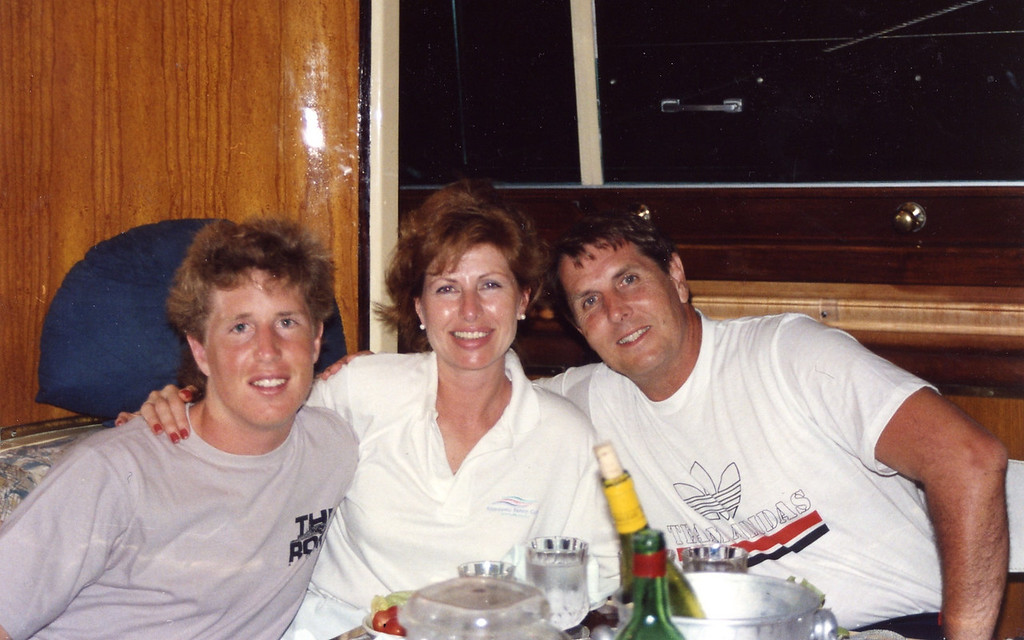 Tom, Betty and Tommy Trip to Virgen Islands 1989