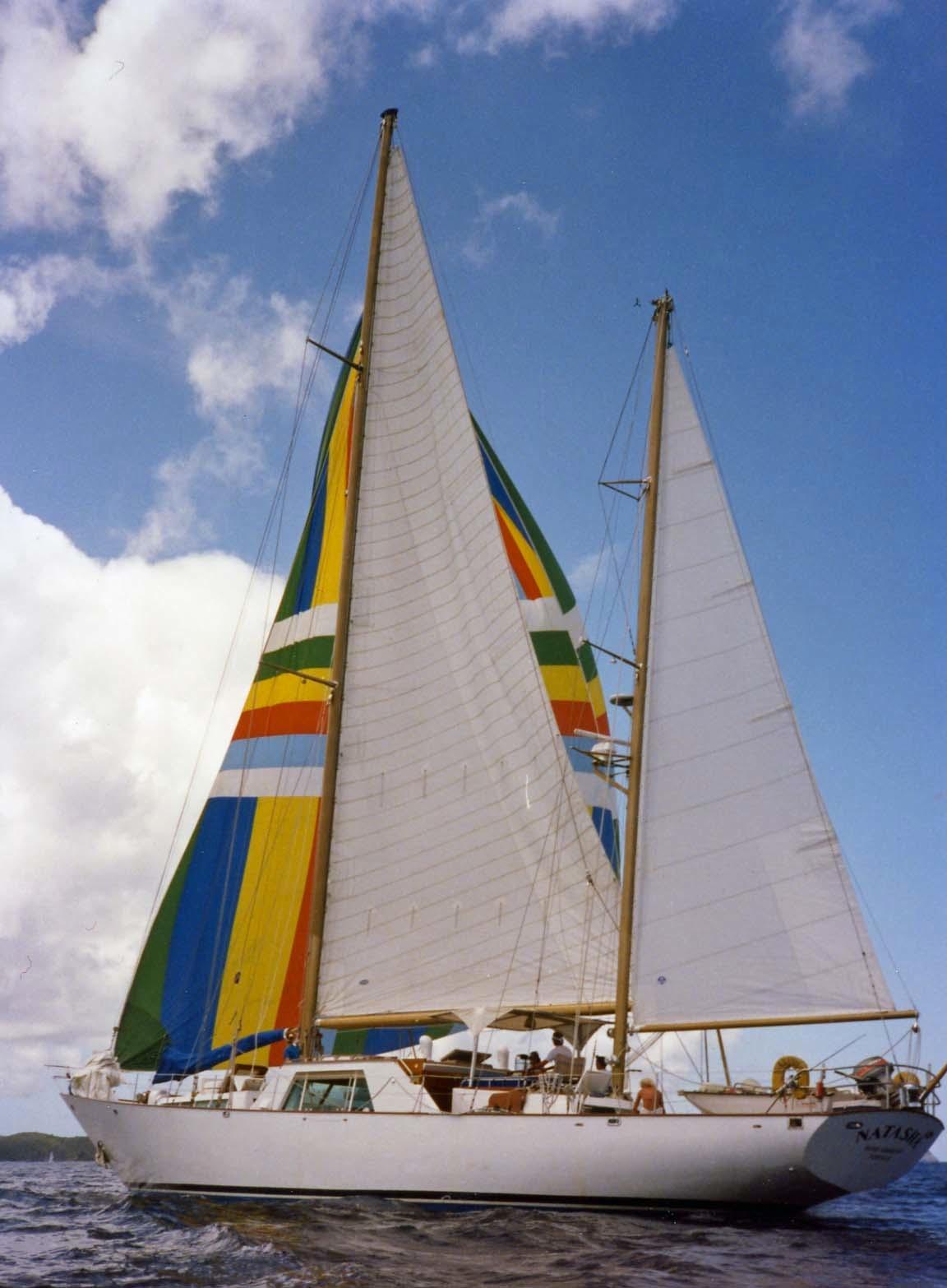 The Natasha trip to Virgin Islands aboard the Natasha, March 18-25, 1989