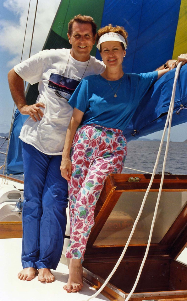 Tom and Betty trip to Virgin Islands aboard the Natasha, March 18-25, 1989 (1)