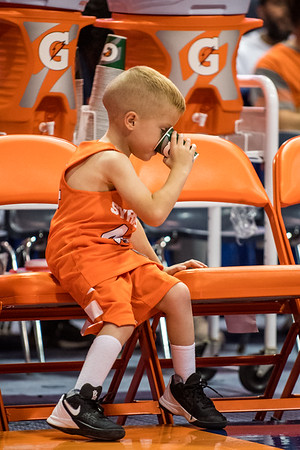 five-year-old Mason Campbell is the newest honorary member of the Syracuse basketball team.