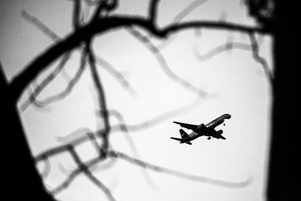 Planes fly by Onadaga lake friday evening.