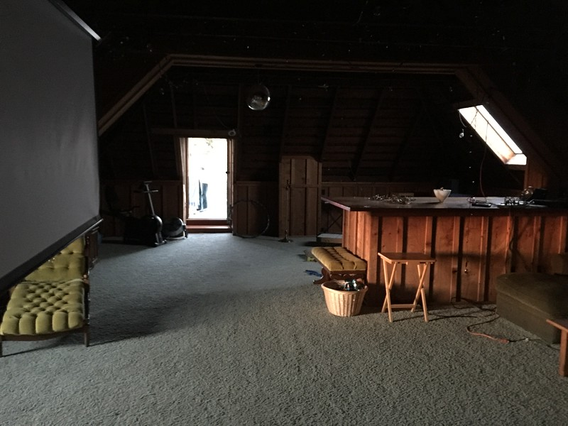 Attic of Patty's Home