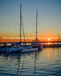Sailboat Resting at Sunset